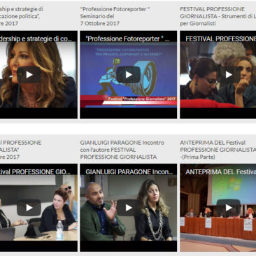 Tutti i video del Festival edizione 2017